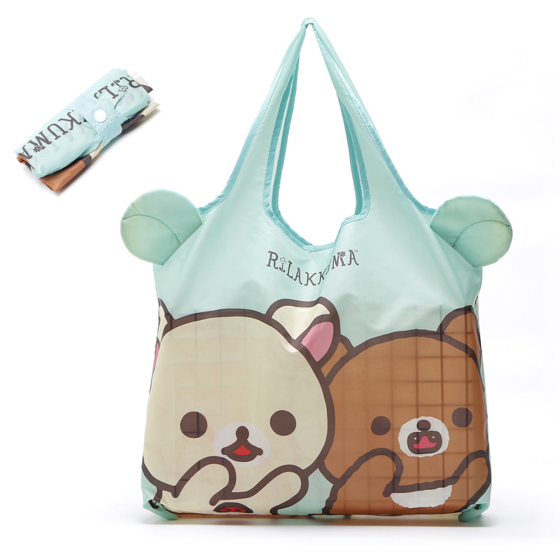 Cartoon foldable recycle bag